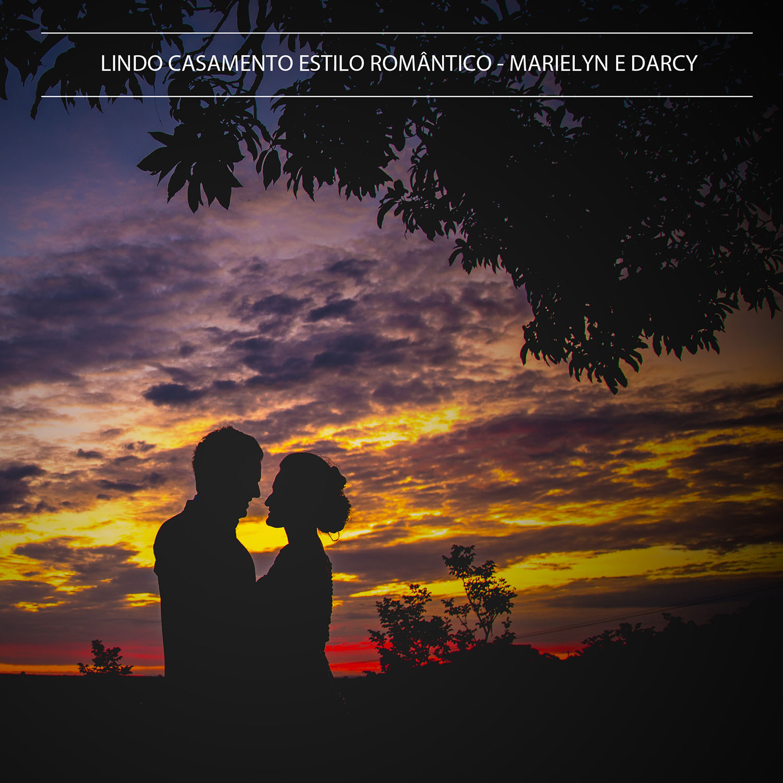 Casamento estilo romântico - Marielyn e Darci