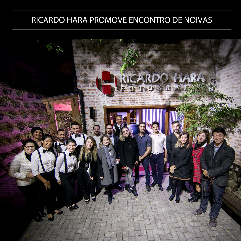 Ricardo Hara promove encontro entre noivas.