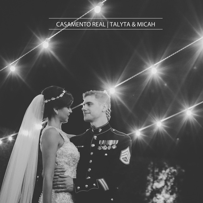 CASAMENTO REAL - TALYTA E MICAH