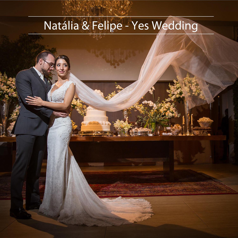 Lindo Casamento de Natália e Felipe - Yes Wedding